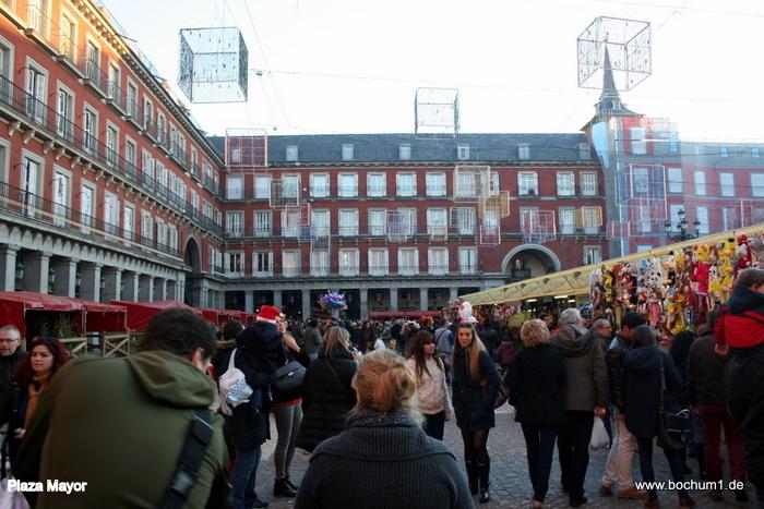 Reisebericht madrid puerta del sol plaza mayor calle preciados - El corte ingles puerta del sol ...