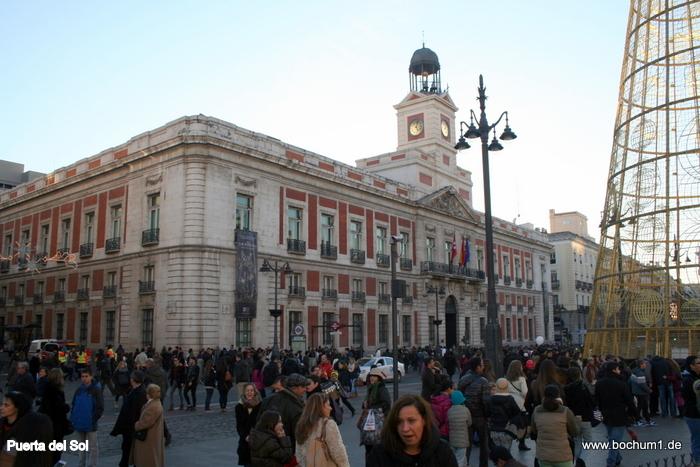 reisebericht madrid puerta del sol plaza mayor calle